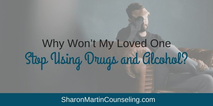 Why won't my loved one stop using drugs and alcohol? #substanceabuse #addiction #codependency