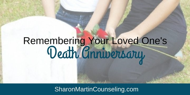 Remembering Your Loved One's Death Anniversary