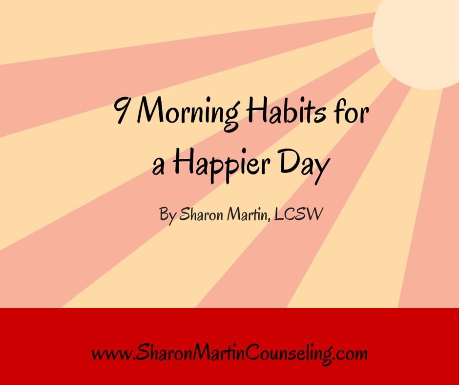 9 Morning Habits for a Happier Day #morninghabits #happyday