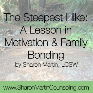 The Steepest Hike www.sharonmartincounseling.com