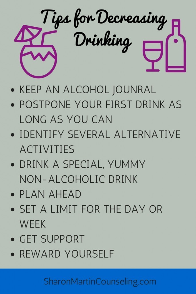 Tips for Moderating Drinking #alcohol #moderation #harmreduction