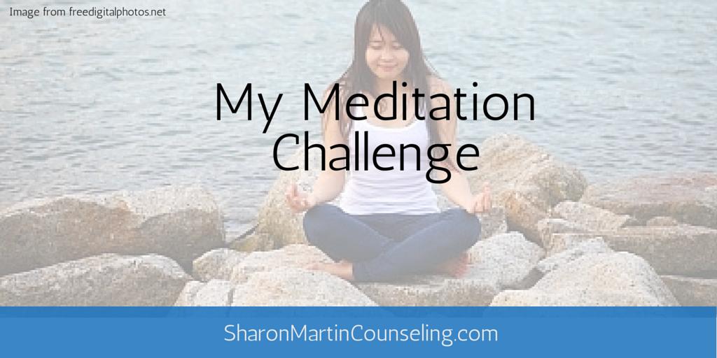 My Meditation Challenge #mindfulness #meditation #stress #anxiety #muse