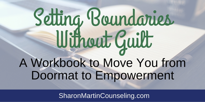 Setting Boundaries Workbook by Sharon Martin