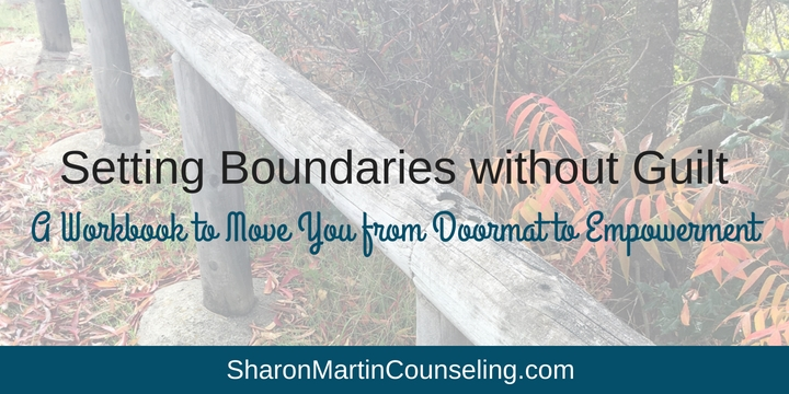 How to set boundaries without guilt. Learn how to set boundaries, overcome people-pleasing and codependency with this practical workbook.