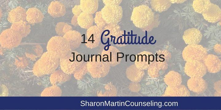 14 Gratitude Journal Prompts