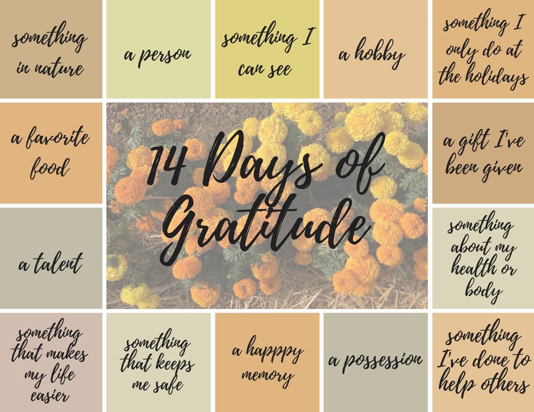 14 Gratitude Journal Prompts - Sharon Martin, LCSW ...