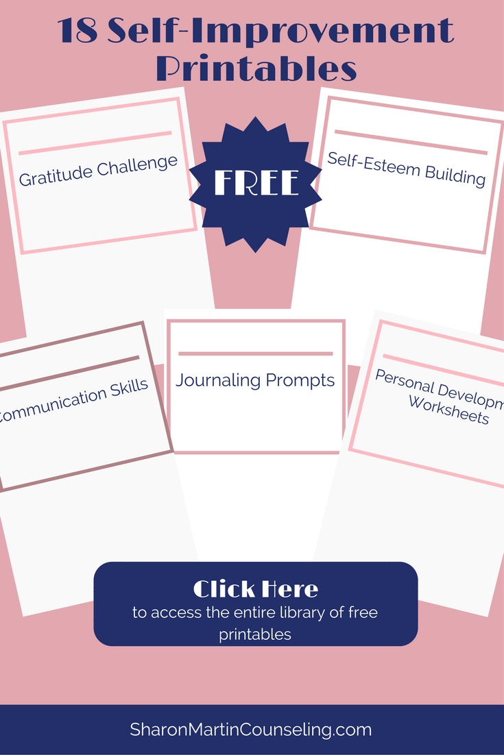 18 Free Self-Improvement Printables