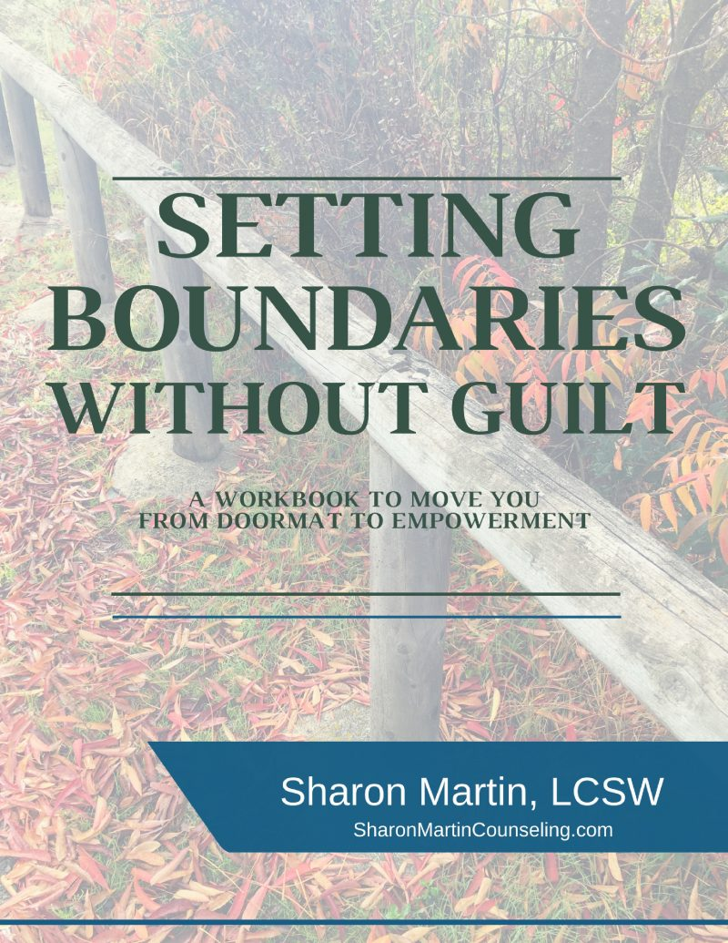 Workbooks codependency workbook free : Setting Boundaries Workbook | Learn to set boundaries without guilt