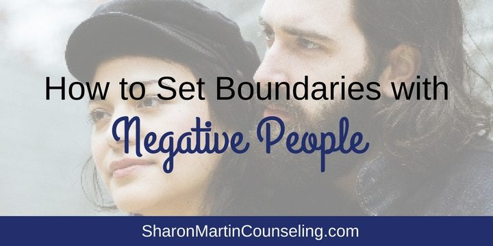 How to Set Boundaries with Negative . Do you know some negative people or energy vampires? Setting boundaries is the key to managing difficult relationships with people who annoy you and deplete your energy.