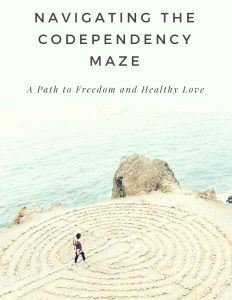 Self-help codependency book. Heal codependency, find healthy love, self-care, authentic self.