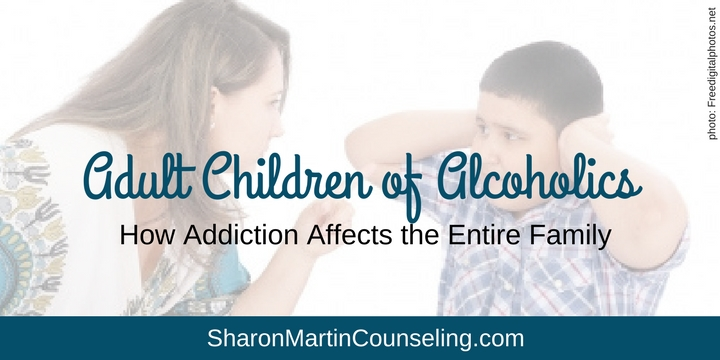 Adult Children of Alcoholics Family Roles Counseling San Jose