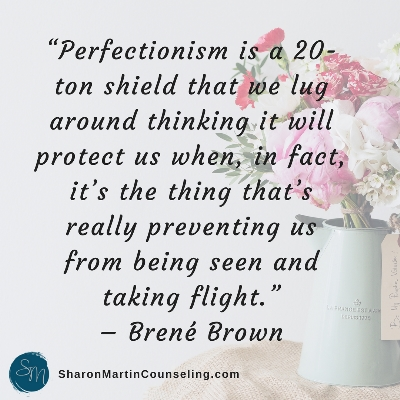 What do perfectionism and codependency have in common? Sharon Martin is a licensed therapist in San Jose, CA specializing in perfectionism and codependency.