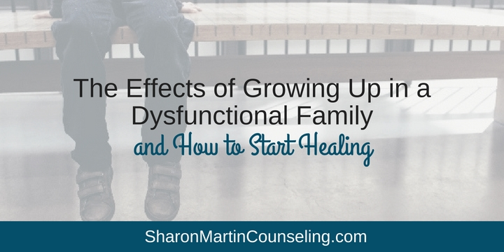 The effects of growing up in a dysfunctional family