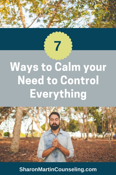 How to stop trying to control everything and go with the flow. #control #anxiety #perfectionist