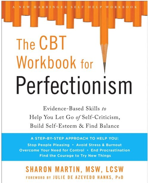 The CBT Workbook for Perfectionism #perfectionist #anxiety #selfacceptance #selfhelp #book #CBT