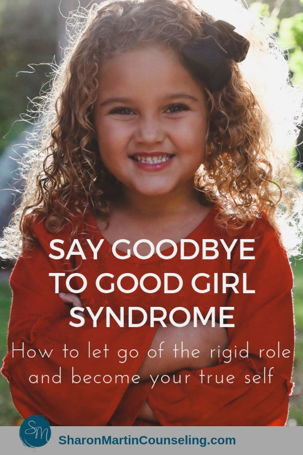Say goodbye to good girl syndrome. Stop trying to please everyone and be yourself.