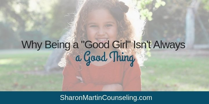 Let go of Good Girl Syndrome and people-pleasing #goodgirl #peoplepleasing #perfectionist #ACA