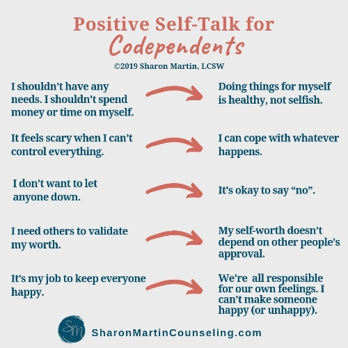 reframe codependent self-talk